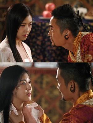 ハ・ジウォンがキム・ジョンヒョンと対立する。 ハ・ジウォンがキム・ジョンヒョンと対立する。【写真
