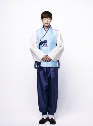 パク・ヘジン、韓服姿で旧正月の挨拶|韓流スターズ - 芸能
